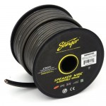 Stinger SHW510G 10 AWG 50 Foot Roll Hyper Twisted Gray Colored Speaker Cable