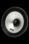 Autotek M6.5-4 6.5 Inch Full Range Pro Speaker with Stamp Steel Basket