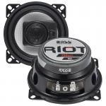 Boss R43 Riot Series 4-Inch 200 Watts Max Power 3-Way 4-Ohms Car Audio Speakers