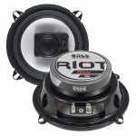 Boss R53 5.25-Inch 200 Watts Maximum Power 3-Way Riot Series Car Audio Speakers