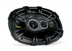Kicker CS6934 6x9 Inch CS-Series 450 Watt Peak/150 Watt RMS 3-Way Coaxial Car Speakers (40CS6934)