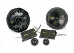 Kicker CSS654 6.5 Inch Extended Voice Coil Structure 2 Way Component Speaker System (40CSS654)