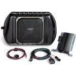Kicker SWRA411 11-Up 4 Door Jeep Wrangler Unlimited Custom-Fit Soundgate Substage Amplified Sub (SWRA411)