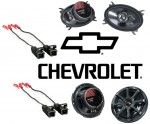 Kicker Package Chevy Silverado 95-06 Ext Cab Truck Factory Speaker Replacement KS650 & KS460