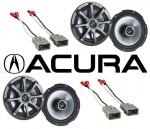 "Kicker Package Acura Integra 1986-2001 Factory 6 1/2"" Coaxial Speaker Replacement (2) KS650 New"