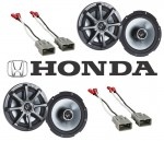 "Kicker Package Honda CR-V 1997-2008 Factory 6 1/2"" Coaxial Speaker Replacement (2) KS650 New"
