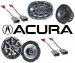 Kicker Package Acura CL 1997-2003 Factory Coaxial Speaker Replacement KS650 & KS6930