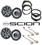 "Kicker Package Scion xB 2004-2011 Factory 6 1/2"" Coaxial Speaker Replacement (2) KS650 New"