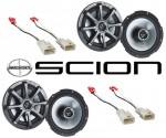 "Kicker Package Scion xD 2008-2010 Factory 6 1/2"" Coaxial Speaker Replacement (2) KS650 New"