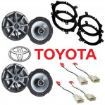 "Kicker Package Toyota Corolla 1998-2002 Factory 6 1/2"" Coaxial Speaker Replacement (2) KS650 New"