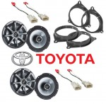 "Kicker Package Toyota Highlander 2001-2007 Factory 6 1/2"" Coaxial Speaker Replacement (2) KS650 New"