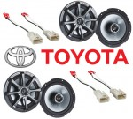 "Kicker Package Toyota Tundra 2003-2007 Factory 6 1/2"" Coaxial Speaker Replacement (2) KS650 New"