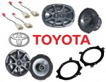 Kicker Package Toyota Camry 1997-2001 Factory Coaxial Speaker Replacement KS650 & KS6930