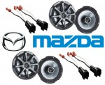 "Kicker Package Mazda 6 2003-2006 Factory 6 1/2"" Coaxial Speaker Replacement (2) KS650 New"