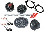 Kicker Package Dodge Caravan 1996-2000 KS5250 & KS6930 Coaxial Factory Upgrade Replacement Speakers