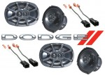 Kicker Package Dodge Caravan 2000-2003 Factory 6X9 Coaxial Speaker Replacement (2) KS6930 New