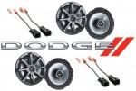 "Kicker Package Dodge Dakota 1997-1999 Factory 6 1/2"" Coaxial Speaker Replacement (2) KS650 New"