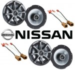 "Kicker Package Nissan 350Z 03-08 Factory 6 1/2"" Coaxial Speaker Replacement (2) KS650 New"