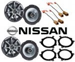 "Kicker Package Nissan Altima 1998-2001 Factory 6 1/2"" Coaxial Speaker Replacement (2) KS650 New"