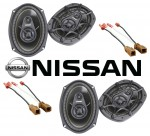Kicker Package Nissan Sentra 2007-2010 Factory 6X9 Coaxial Speaker Replacement (2) DS693 New