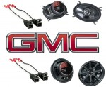 Kicker Package GMC Sierra 95-06 Ext Cab Truck Factory Speaker Replacement KS650 & KS460