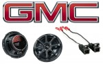 Kicker Package GMC Canyon 04-12 Regular Cab Truck Factory Speaker Replacement KS650