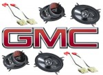 Kicker Package GMC CK Sierra 88-94 Extended Cab Truck Factory Speaker Replacement (2) KS460