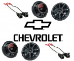 Kicker Package Chevy Avalanche 02-06 Factory Speaker Replacement (2) KS650 Coaxial Speakers