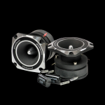 "Powerbass L-3H 3"" Aluminum Horn Tweeter w/ Bullet Design & Diamond Cut Accents"