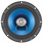 Sound Storm Lab F265 Car Audio Force 6.5 Inch 2-Way Speaker with 250 Watts & Poly Injection Cone 4 Ohm Sold in Pairs (SSL)