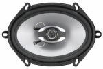 "Sound Storm Lab GS257 Car Audio GS 5 x 7"" Two-Way Speaker Poly Injection Cone with 225W also fits 6"" x 8"" Size (SSL)"