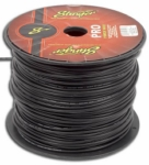 Stinger SPW312BK 12 Gauge Black Power Wire (5-Foot Increments)