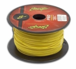 Stinger SPW318YL 18 Gauge Yellow Power Wire (5-Foot Increments)
