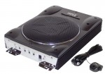 "Pyle Car Audio PLBASS8 Active Amplified Subwoofer System 8"" Super Slim Woofer Suitable for Under-seat Installations"