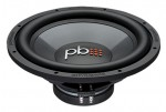 "Powerbass L-1504D 15"" Subwoofer with Non-Resonant Basket & Chrome Push Terminals"
