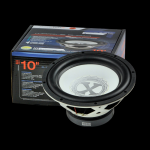 Powerbass XL-104MF 10-Inch Marine Grade Subwoofer with Insulated Tinsel Leads