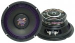 "Pyramid WH68 High Power Specially Treated Purple Cloth Edge Suspension 6"" Car Audio Subwoofer 200W"