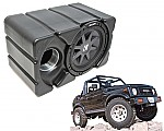 "Suzuki Samurai Kicker CVR10 Loaded Car Stereo Custom Fit 10"" Subwoofer Enclosure Box"
