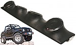 "Suzuki Samurai Rockford Package R152 Custom Quad (4) 5 1/4"" Speaker Sound Bar Pod"