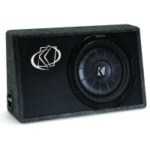 "Kicker TCVT12 Single 12"" Sub Box 400 Watts 2 Ohm Impedance [10TCVT12-2]"