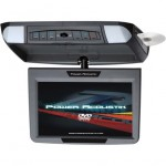 "Power Acoustik PMD-90CM 9"" Overhead Flip Down Monitor W/ Built-In DVD Player"