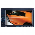 Boss BV9348B Bluetooth Hands-Free Double-DIN Digital Media In-Dash Receiver with 6.2-Inch TFT Digital Touchscreen Monitor