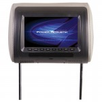 "Power Acoustik H-71CC Universal Replacement Headrest with 7"" LCD 480 x 234 Widescreen Resolution"