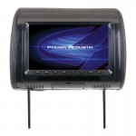 "Power Acoustik H-91CC Universal Replacement Headrest with 9"" LCD 800 x 480 Widescreen Resolution"