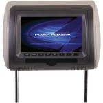 "Power Acoustik HDVD-71CC Universal Replacement Headrest 7"" LCD with DVD Player"