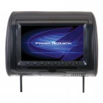 "Power Acoustik HDVD-91CC Universal Replacement Headrest with DVD Player & 9"" LCD Screen"