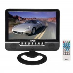 "PYLE PLMN7SU 7"" Battery Powered LCD Monitor with Built in Stereo Speakers & Universal Stand"