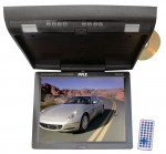 "Pyle Car Audio PLRD153IF Flip Down 15.1"" Monitor with Built in DVD/SD/USB player & Wireless FM Modulator"
