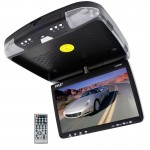 "Pyle Car Audio PLRD92 Roofmount 9"" Flipdown TFT LCD Monitor and DVD Player"