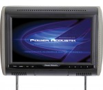 "Power Acoustik PHDM-103 Universal Replacement 10.3"" LCD Digital Media Headrest with HDMI MHL Input"